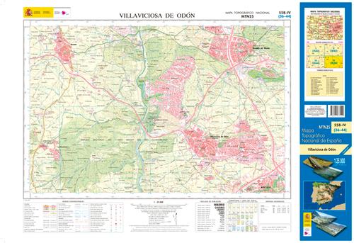 Mapa Villaviciosa De Odon.558 4 Villaviciosa De Odon 1 25 000 Mapas Excursionistas Y