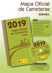 Mapa Oficial de Carreteras de España 2019 - Guías turísticas - Mapiberia f&b